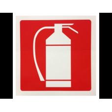 Σήμανση πυροσβεστήρα 10Χ10cm αυτοκόλλητο