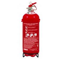Πυροσβεστήρας ξηράς κόνεως 2Kg ABC40% για Ι.Χ. όχημα (8A-34B ) CE/EN3