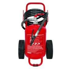 Πυροσβεστήρας τροχήλατος ξηράς κόνεως 25Kg (CE/EN1866)