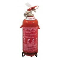 Πυροσβεστήρας ξηράς κόνεως 1Kg ABC85% (8A-34B-C) CE/EN3