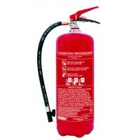 Πυροσβεστήρας ξηράς κόνεως 6Kg ABC40% (21A-113B-C) CE/EN3